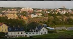Varberg from the fortress