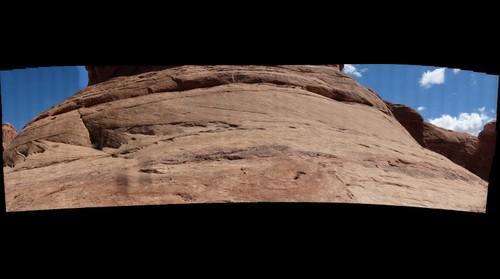 Upper Navajo Sandstone at Arches National Park, Utah