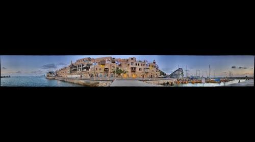 Jaffa harbour, Israel