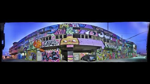 Graffiti and Wall art in Jaffa, Israel