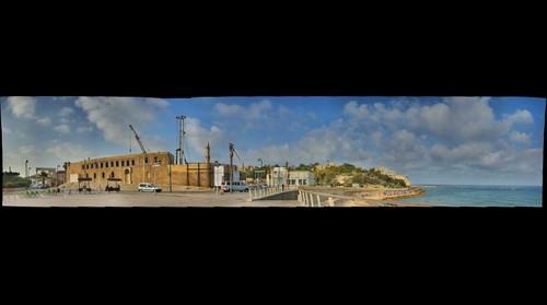 Jaffa old city walls, Israel