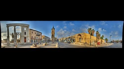 Clock Tower Plaza, Jaffa, Israel