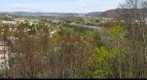 Endicott, NY flooding panorama