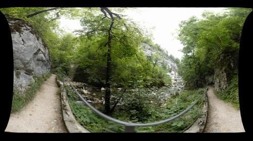 Kleinkraftwerk in the Taubenloch Canyon