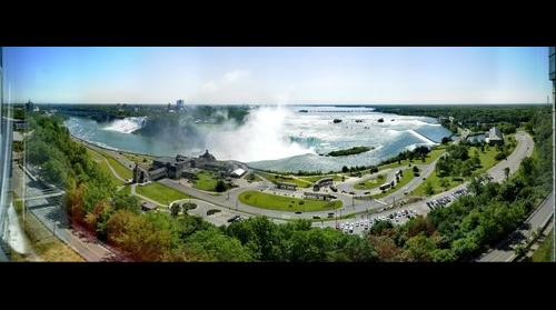 Niagara Falls Canada from the Marriot Hotel