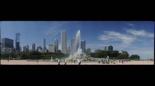 Buckingham Fountain, Grant Park, Chicago, Illinois USA