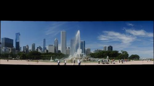 Buckingham Fountain, Grant Park, Chicago USA