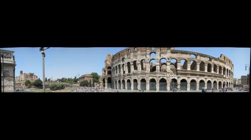 Colosseum and Ruins
