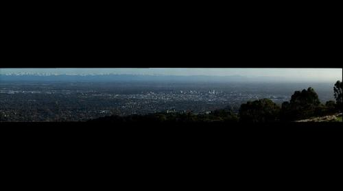 View of Christchurch from Huntsbury #3