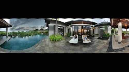 Banyan tree villa in Bali