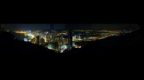 Benidorm vista de noche