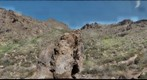 Peralta Trail Panorama; the Superstition Mountains of Arizona