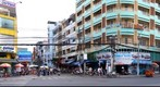 Corner of Do Quang Dao and Pham Ngu Lao, Ho Chi Minh City, Vietnam.