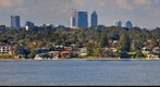 Perth Skyline From mosman Park