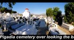 Cemetery Pigadia bay Karpathos Greece