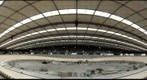Inside the 2012 London olympic velodrome