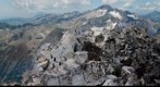 Pico Perdiguero. 3222 m, Pirineos (Pyrenees). Panormica desde la cima. 350 fotos. Objetivo 105 mm (eq. 160mm)