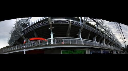 panoramica estadio pascual guerrero de santiago de cali para el mundial de la FIFA SUB-20 oriental 2