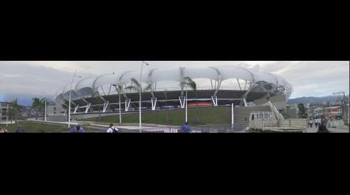 panoramica estadio pascual guerrero de santiago de cali para el mundial de la FIFA SUB-20 sur 1
