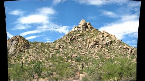 Pinnacle Peak Park, Scottsdale, AZ  Panorama 1