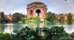 The Palace of Fine Arts at San Francisco