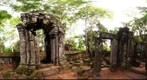 Ruins at Koh Kher, Cambodia.