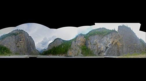 Prairie Creek Canyon, South Nahanni River