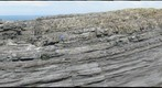 Turbidites at Fisherman's Point, Face 1, gigapan #1