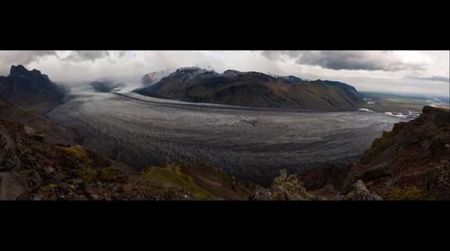 Skaftafell, Iceland, glacier