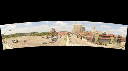 Pontiac, Mi from Phoenix Center panorama
