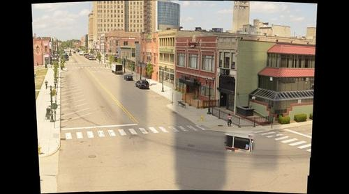 Saginaw Street, downtown Pontiac Mi.