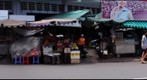 View of market on Cong Quynh Street, Ho Chi Minh City, Vietnam