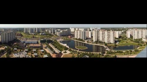 Вид на Михайловский пруд