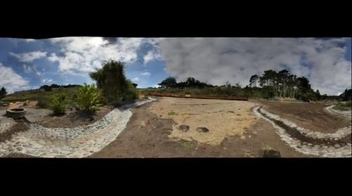 El Polin Springs under construction. Presidio of San Francisco