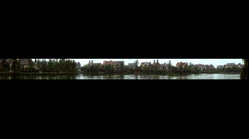 成都南湖公园的欧式建筑
