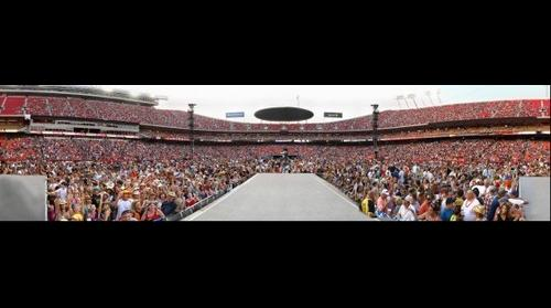 Kenny Chesney at Arrowhead