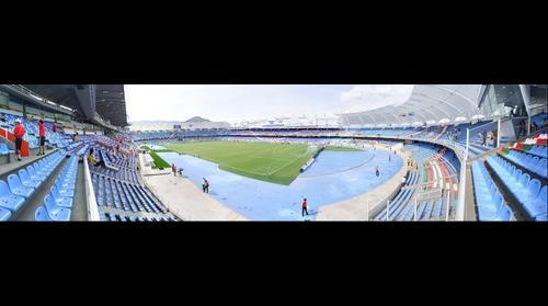 panoramica estadio pascual guerrero de santiago de cali para el mundial de la FIFA SUB-20 en el dia