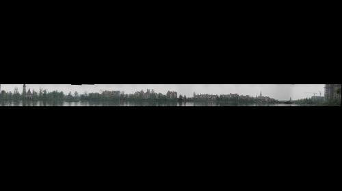 四川成都南湖公园南湖周围