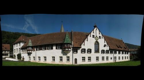 In the monastery garden of Blaubeuren