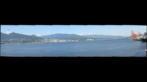 Vancouver BC Partial Panorama