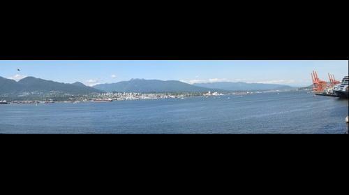 Vancouver BC Partial Pan 2