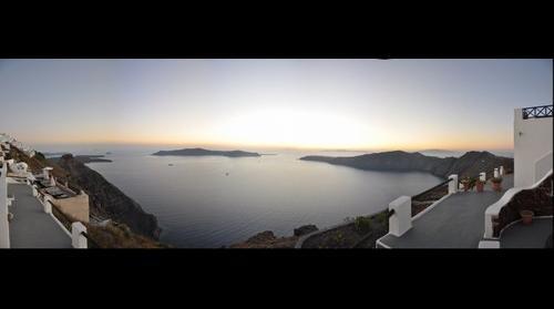 Imerovigli sunset (Santorini)
