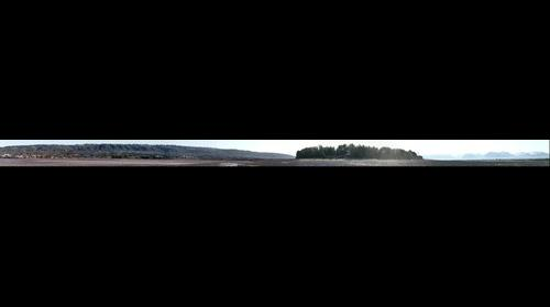 Partial panoramic of Bishop's Beach Alaska