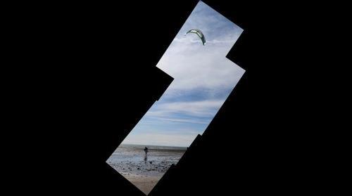 Parasurfer in Homer Alaska