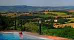 Umbria from a pool