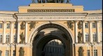 Triumphal Arch at Palace Square, St Petersburg (Russia)
