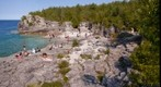 Indian Head Cove at Bruce Peninsula National Park - 3rd View, Cyprus Lake, Ontario, Canada Aug 15, 2007