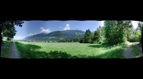 Berg Wiese Klein