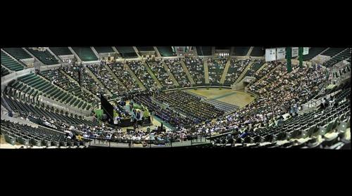 UNT Doctoral and Masters Commencement Ceremony