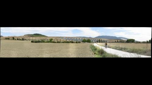 Acueducto de Noain. Aguas de Subiza.